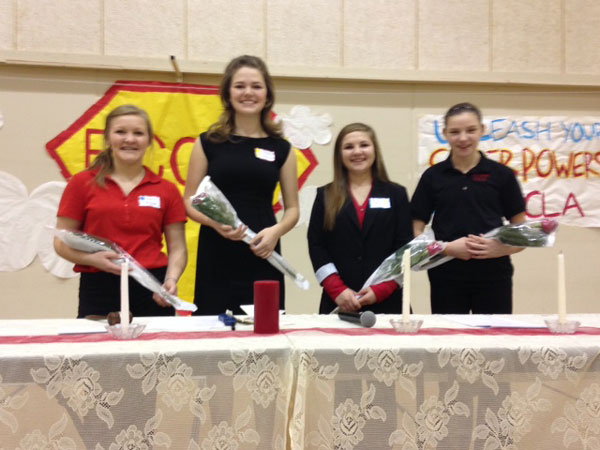 New District 1 FCCLA Officers