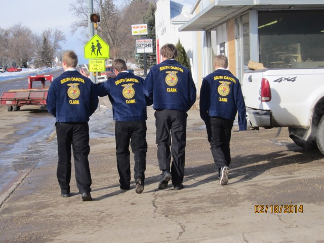 FFA Shows Clark Businesses Appreciation