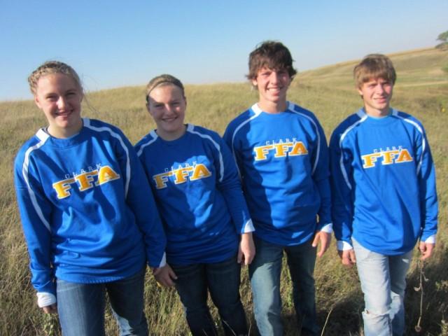 FFA 1st Place Range team
