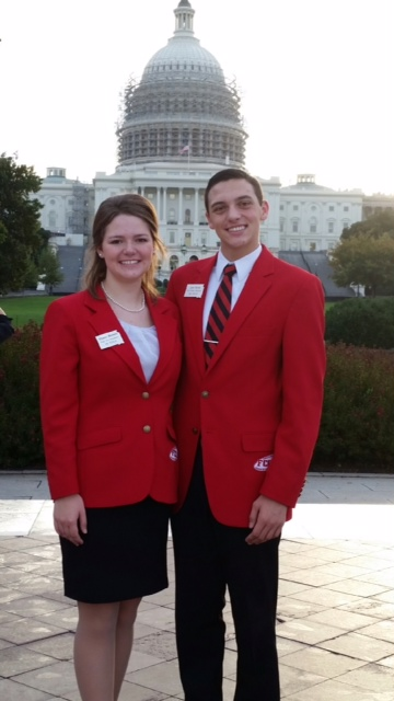 Clark FCCLA President/State First Vice-President at Washington DC