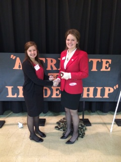 Clark FCCLA wins District Chairperson