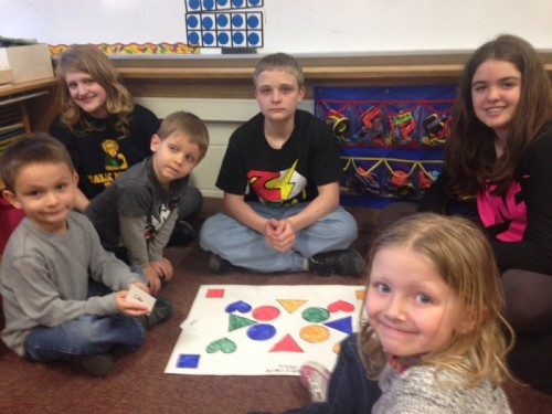 7th graders create Preschool games
