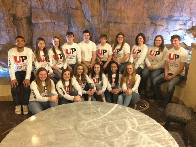FCCLA Rocks the Gold at State Meeting