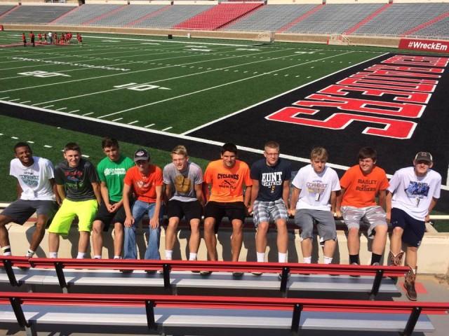 Boys Basketball team attends camp at Texas Tech