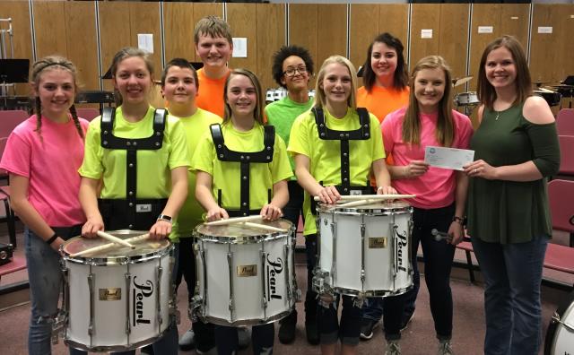 Clark School Drumline