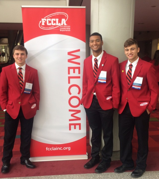 "FCCLA Senior Boys awarded ""Spirit of Membership"""