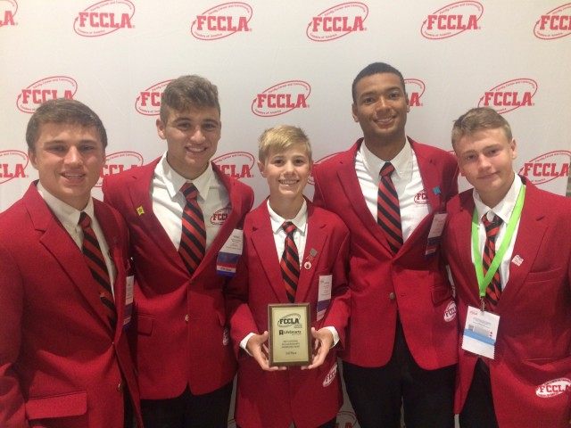 FCCLA Quiz Bowl finishes 3rd at National Level